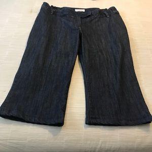 🎀Liz Lange maternity Jean shorts size 16🎀